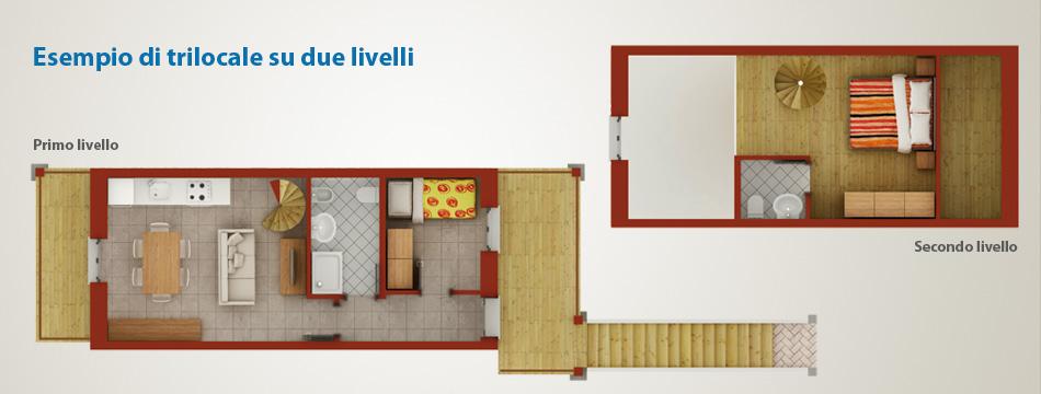 Case appartamenti bilocali e trilocali macugnaga monte for Piani e disegni di casa con 2 camere da letto
